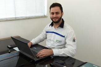 Caio Pereira, gerente administrativo da V8 Empreendimentos.