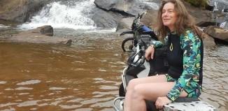 Tradutora Rosa Freitag já cruzou a América Latina a bordo de uma BMW XCounty