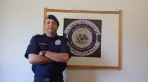 Emerson Silva dos Santos, comandante da Guarda Municipal
