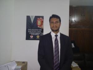 Dr. Leonardo Mota, delegado da Polícia Civil.