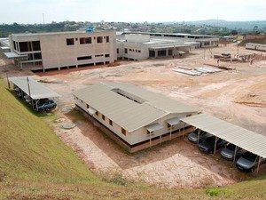 Hospital Regional está com 80% das obras prontas Divinópolis  (Foto: Patrícia Rodrigues/PMD)