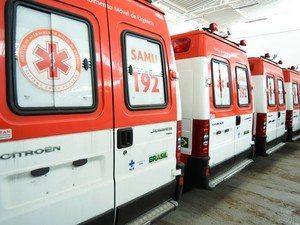 Ambulância do Samu serão entregues em maio (Foto: Márcio Ferreira/Agência Minas).
