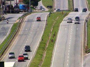 Estradas foram estudadas para distribuição de ambulâncias (Foto: Reprodução/TV Integração).