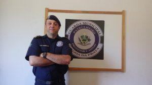 Emerson Silva - Comandante da Guarda Civil de Lagoa da Prata.