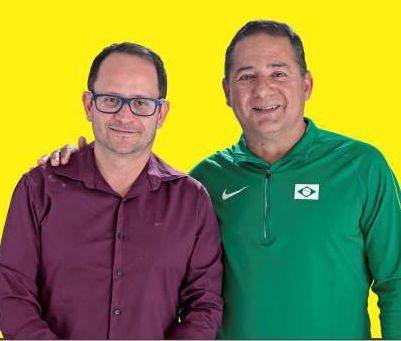 Di-Gianne e Abel são candidatos à prefeitura de Lagoa da Prata (Foto: Divulgação)