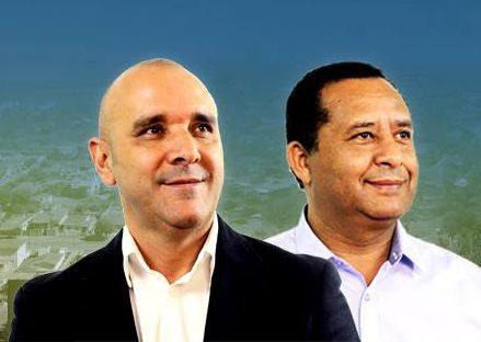 Paulinho e Roberto são candidatos à prefeitura de Lagoa da Prata (Foto: Divulgação)
