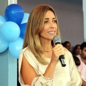Paulene Andrade, secretária municipal de educação de Lagoa da Prata