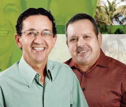 Divininho e Elizeu são candidatos à prefeitura de Lagoa da Prata (Foto: Divulgação)