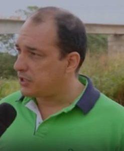 Gustavo Carvalho, presidente da Associação dos Canavieiros de Lagoa da Prata (ASCAF)