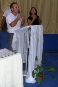 Nei Cabral, diretor da Escola Estadual Helena Aparecida
