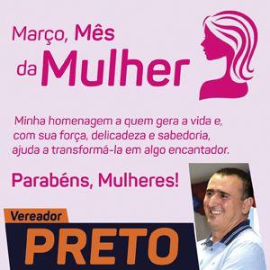 Preto - Vereador em Lagoa da Prata