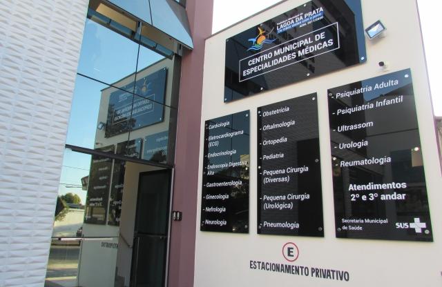 1c9fa717e Lagoa da Prata inaugura primeiro Centro Municipal de Especialidades Médicas  da.