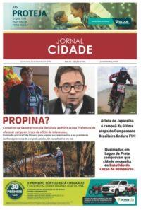 Capa do Jornal Cidade